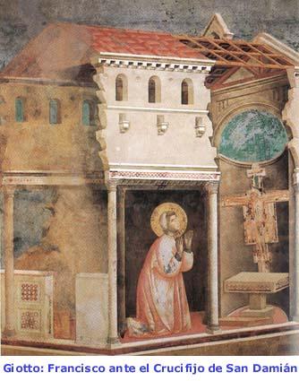 5157ebbea0a El Crucifijo de San Damián y Francisco de Asís