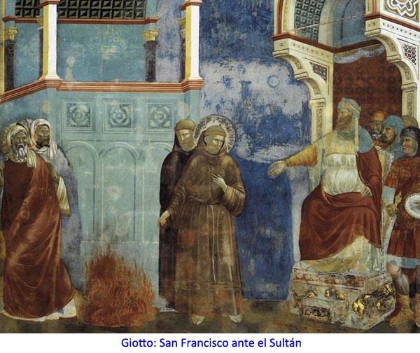 San Francisco ante el Sultán