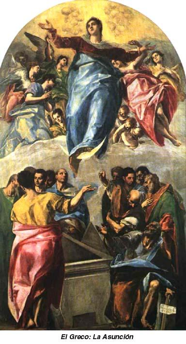 Ascensión a los cielos de María