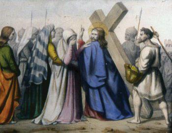 CUARTA ESTACIÓN Jesús encuentra a su Madre