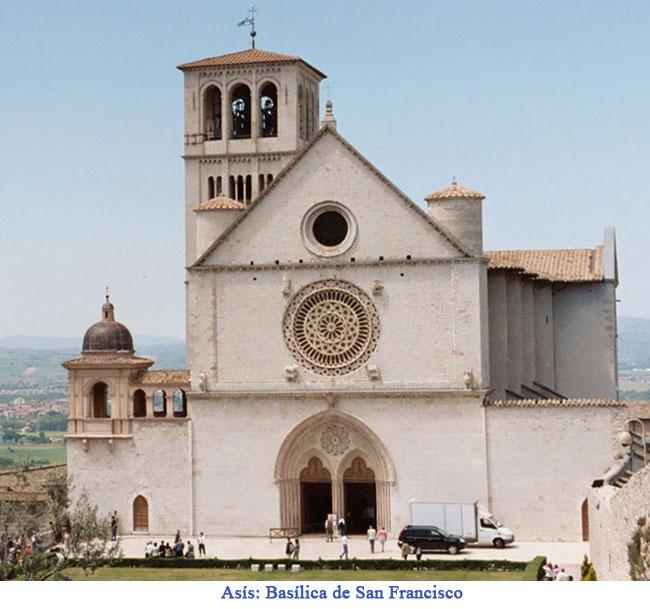 Basílica de San Francisco en Asís